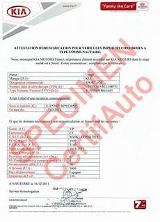 certificat de conformité remorque certifauto certificate of conformity c o c