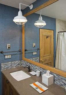 professional s corner bathroom lighting adds bold touch to vail remodel blog