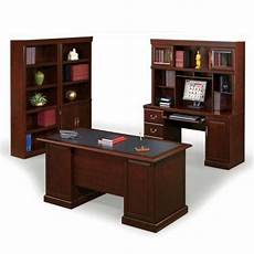 home office suite furniture set heritage hill office suite ofg ex1183 officefurniture com