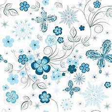 White And Blue Winter Repeating Stock Vector Colourbox
