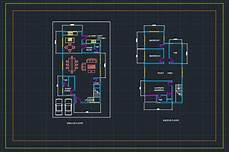 house plan dwg residential house plan cad files dwg files plans and