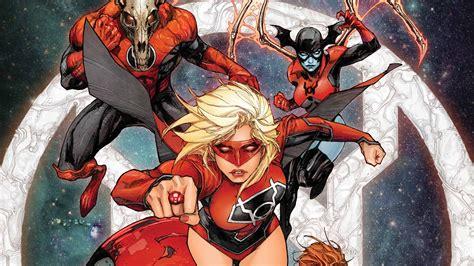 Red Lantern Supergirl