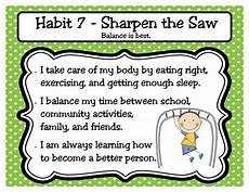 32 best images about habit 7 sharpen the saw on pinterest character education good for me