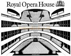 royal opera house london seating plan the royal opera house covent garden bow street london