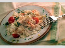 cilantro cream risotto with shrimp_image