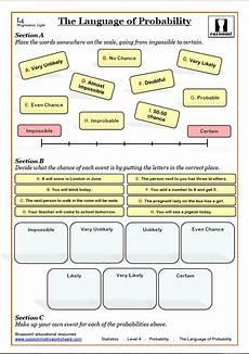 probability worksheets ks3 tes 5820 probability worksheets ks3 ks4 probability tree questions answers