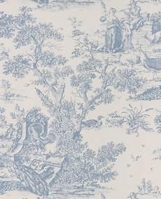 toile de jouy papier peint papier peint intiss 233 toile de jouy bleu porcelaine