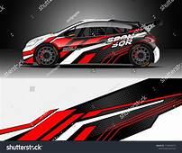 Rally And Drift Car Wrap Design Vector Truck Cargo