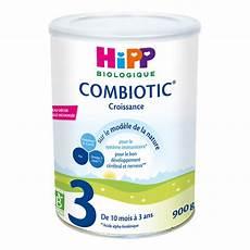 lot 6 boites hipp 3 lait de croissance bio 900g acheter