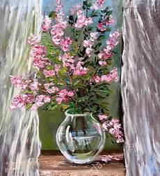 fiori e artecarlacolombo continuo con i fiori opera ad olio