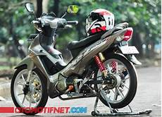 Modif Lu Led Supra X 125 by 2 Modifikasi Honda Supra X 125 Futuristik Ridergalau