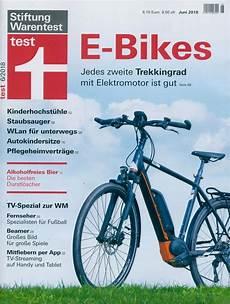 stiftung warentest test 6 2018 quot e bikes quot