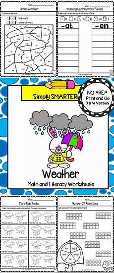 multiplication worksheets kindergarten 4454 weather themed kindergarten math and literacy worksheets and activities literacy worksheets