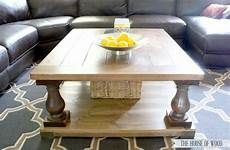 How To Make A Square Coffee Table