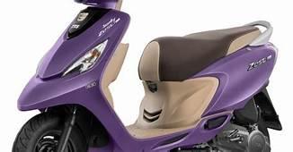 TVS Scooty Zest 110 Matte Purple Colour Variant Introduced