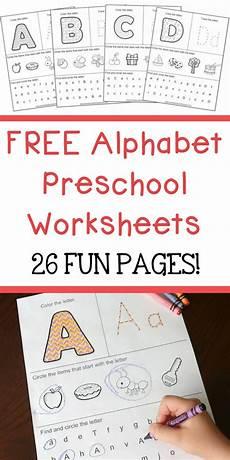 free alphabet preschool worksheets 26 fun pages homeschool giveaways