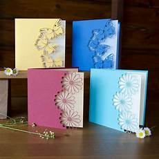 Handcrafted Cards Beautiful Color Butterfly Or