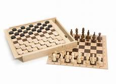 8133 jeux de et d echecs coffret en bois