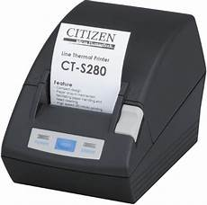 buy citizen ct s280 small thermal receipt printer with