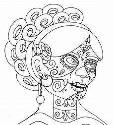 grateful dead skull coloring page coloring pages