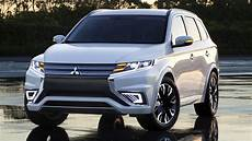 mitsubishi outlander hybrid mitsubishi outlander phev concept s is a striking suv