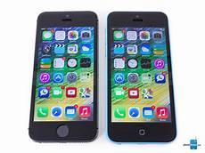 apple iphone 5s vs apple iphone 5c phonearena