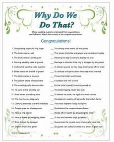 Wedding Quiz Printable