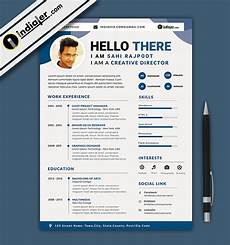 free download editable cv and resume format psd file