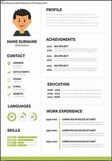 8 pdf cv template word academic printable download zip cvtemplate