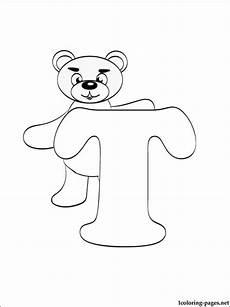 lettere alfabeto colorate da stare letter t coloring page coloring pages