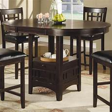 standard height counter height and bar height tables coaster lavon counter height table standard furniture