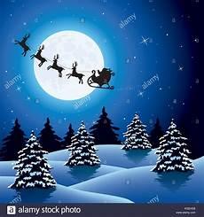 fondo de vacaciones de navidad de vectores con siluetas de