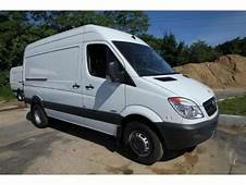 2012 Mercedes Benz Sprinter 3500 High Roof Cargo Van Data