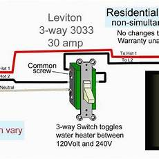 leviton double pole switch wiring diagram free wiring diagram
