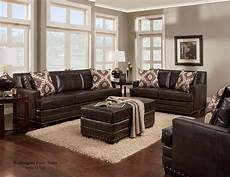 poncho saddle sofa and loveseat leather living room sets