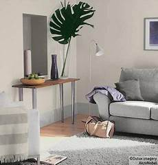 dulux left wall ash white right wall chalk blush 3 home in 2019 room paint living room