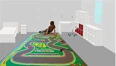 tapis enfant circuit de voiture 130 x 200 cm avec