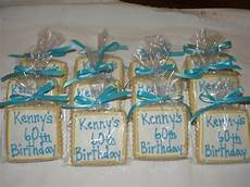 giveaway ideas for 60th birthday cookie dreams cookie co 60th birthday cookie favors