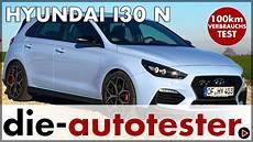 2018 Hyundai I30 N Performance 100 Km Verbrauch Test Und