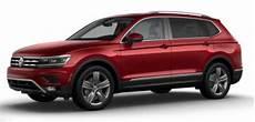2018 Volkswagen Tiguan Color Options
