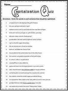 punctuation and capitalization worksheets for 3rd grade 20991 free capitalization practice writing practice 4th grade writing third grade writing