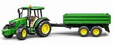 Bruder Trecker Malvorlagen Bruder 174 Traktor Mit Anh 228 Nger 02108 187 Deere 5115m Mit