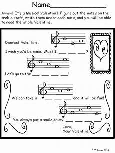 s day worksheets elementary 20348 for sub plans in february set for treble clef note identification middle school