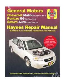 automotive repair manual 2010 saturn outlook free book repair manuals 2004 2012 chevrolet poniac g6 saturn aura haynes repair manual