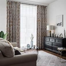 vorhang wohnzimmer moderner vorhang kiefer design im wohnzimmer 1er pack