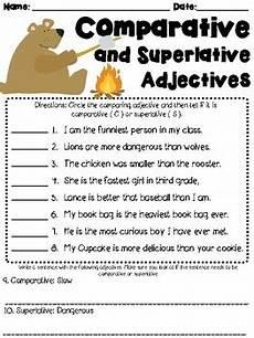 worksheets comparatives and superlatives 18223 comparative and superlative adjectives worksheet l3 1g by