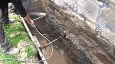 Au 223 Enwandsanierung Drainage Mit Pumpenschacht Einbau