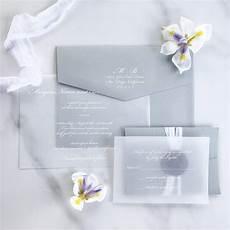 Wedding Invitation Vellum
