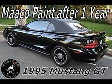Maaco Paint Job 1 Year Later 1995 Ford Mustang GT