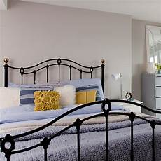 Bedroom Ideas Black Iron Bed by Grey Country Bedroom With Black Iron Bed Country Bedroom